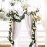 altar para boda a aire libre