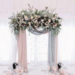 altar para boda en salon