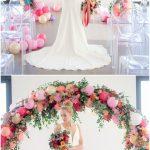 altares con globos para bodas