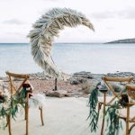altares para boda en la playa