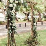 arco para boda sencillo
