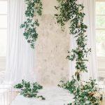 arco para bodas con flores naturales