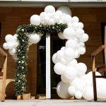 arcos para bodas con globos