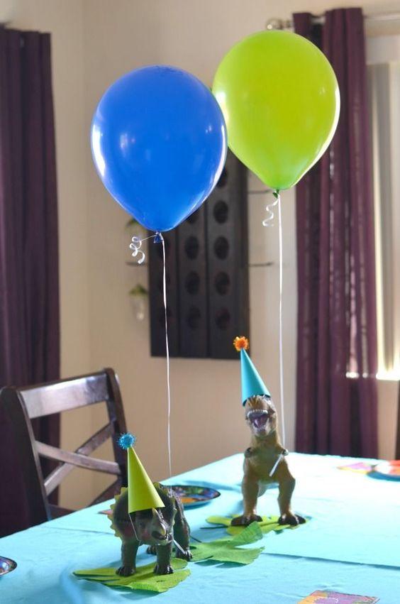 Decoración de cumpleaños de jurassic world