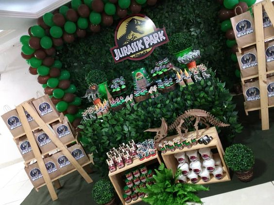 fiesta de jurassic world