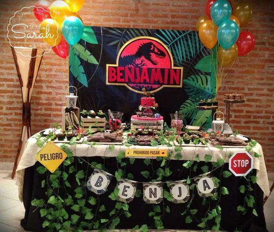 Fiesta De Jurassic World Ideas Para Fiestas De Dinosaurios
