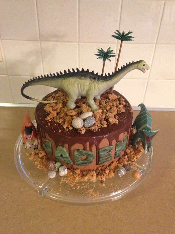 Pasteles de jurassic world