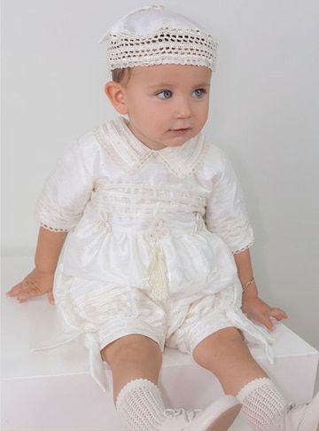 ropa para bautizo de niño