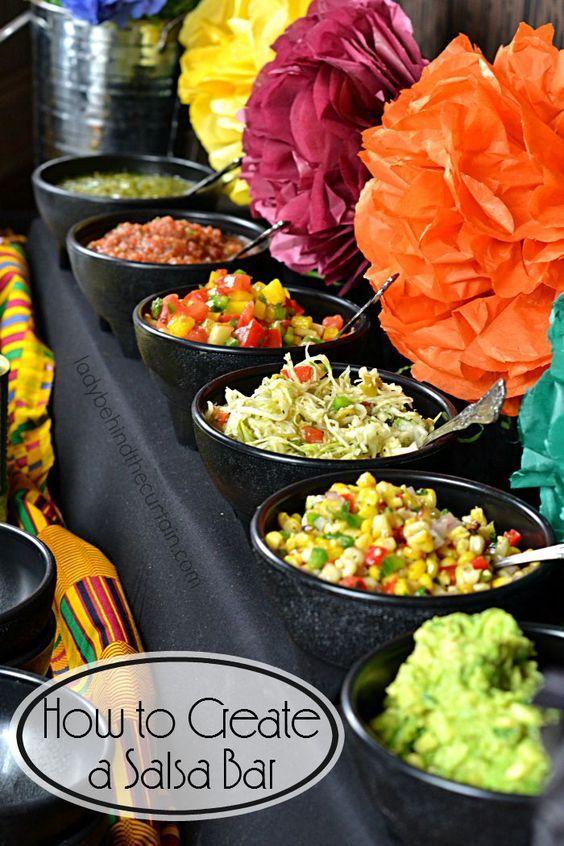 Botanas y comida para fiestas patrias