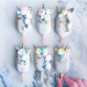 decoracion fiesta de unicornio de niño