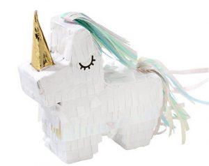 fiesta unicornio de niño