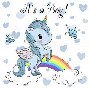invitacion unicornio fiesta niño