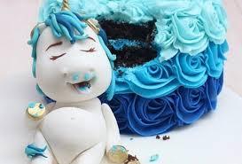pastel de unicornio para niño