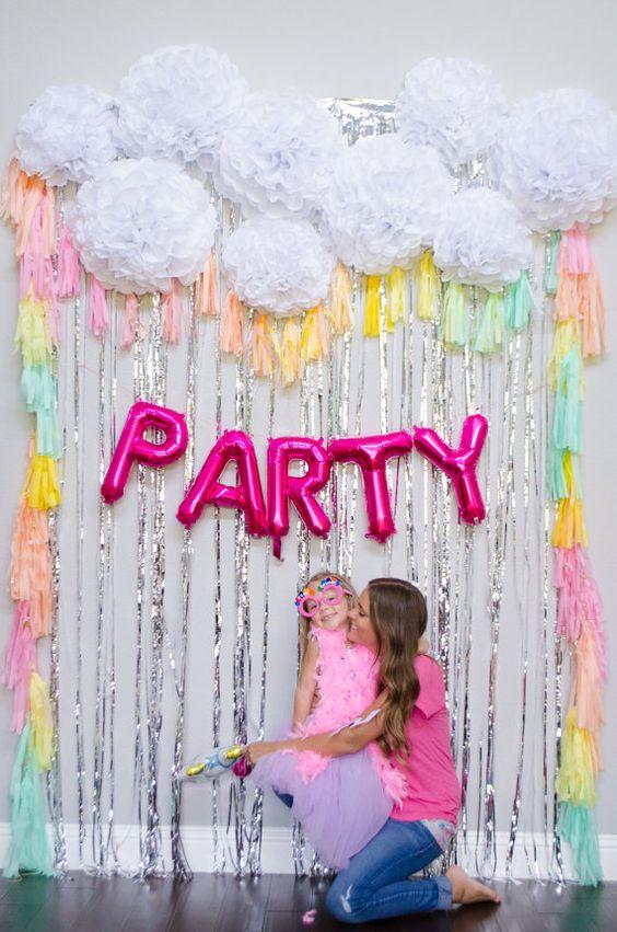 Photo booths para fiestas infantiles de niña