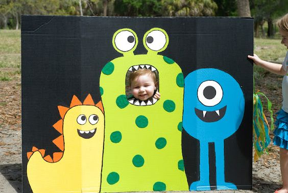 Photo booths para fiestas infantiles de niño
