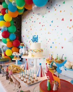Decoración para fiestas tematicas de confeti
