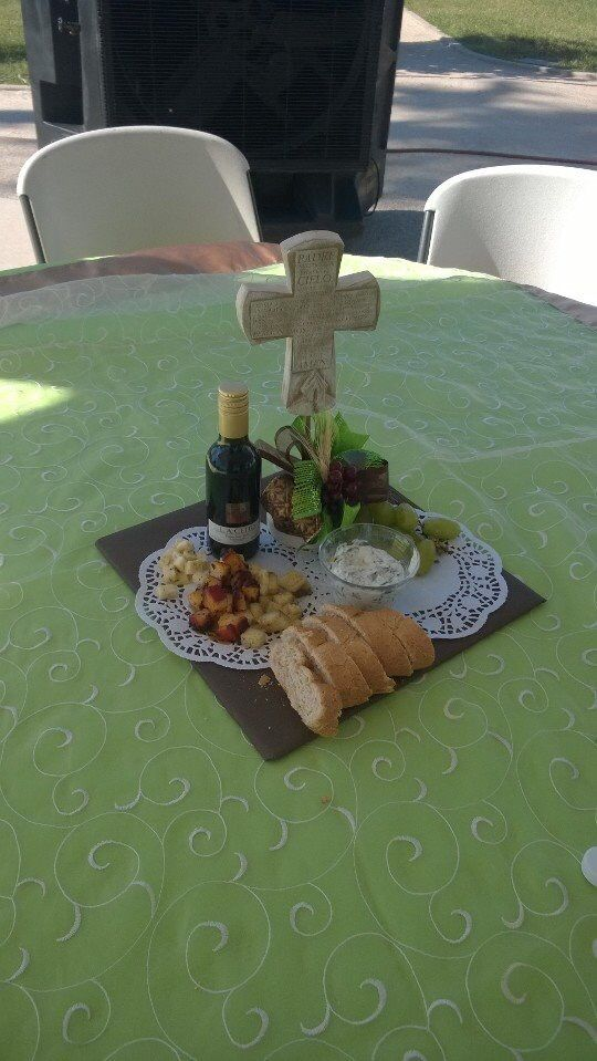Menus para primera comunion