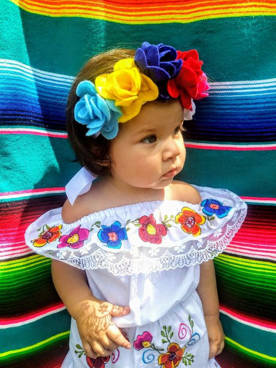 Ropa Para Fiestas Patrias Mexicanas Para Ninas Y Ninos