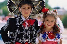 Ropa para fiestas patrias mexicanas para niñas y niños