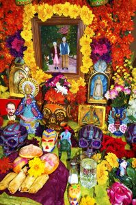 Altares para día de muertos