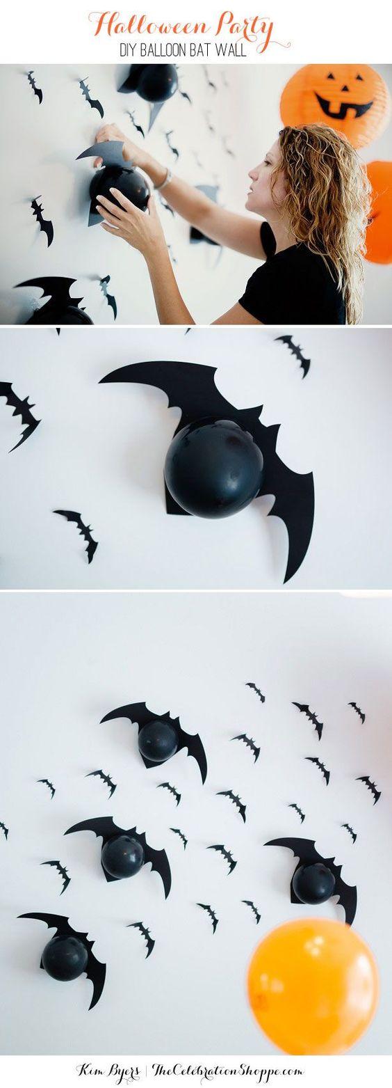 Decoración de fiesta infantil temática de halloween