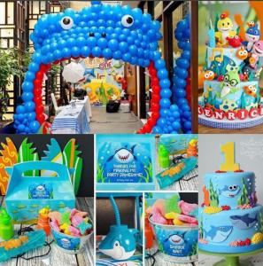 Imágenes de fiesta de Baby Shark
