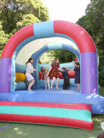 Inflables o brincolines para adultos
