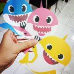 Invitaciones de baby shark