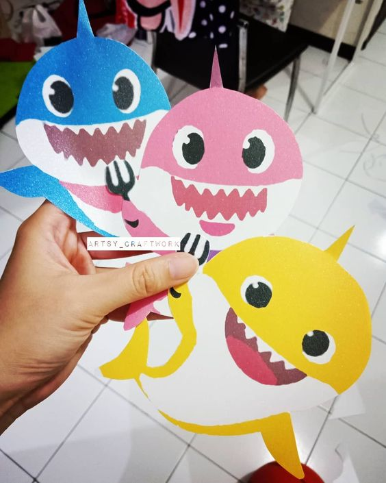 Invitaciones De Baby Shark Decoracion De Fiestas