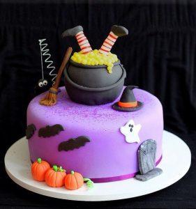 Pasteles para fiesta infantil de halloween
