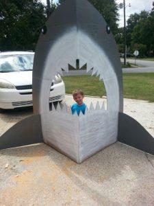 Sets para fotos de baby shark