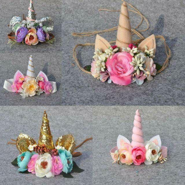 Moños de unicornio para niñas modernos