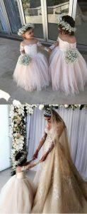 tendencia vestidos de gala para niñas 2018