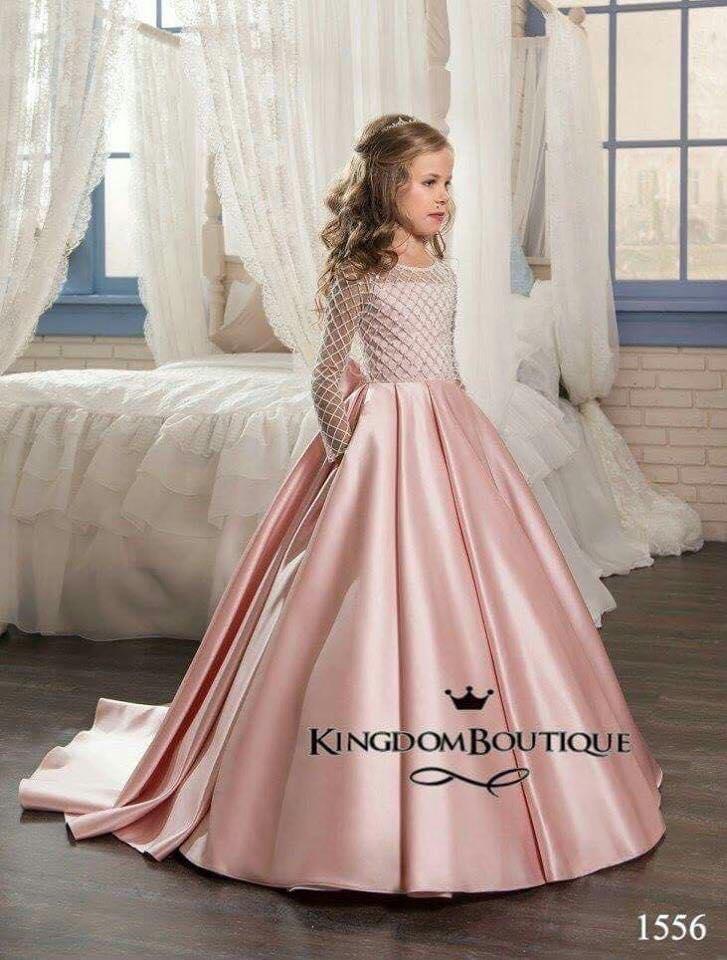 e41756bba Vestidos de fiesta para niñas | Tendencias 2018 - 2019