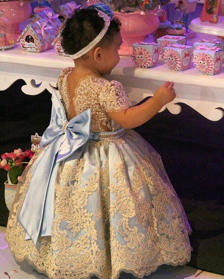 Vestidos De Fiesta Para Niñas Tendencias 2018 2019
