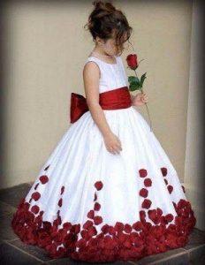 vestidos de fiesta para niñas 2018