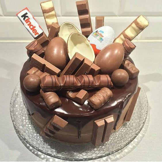 pastel para una Fiesta tematica de nutella