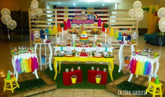 Fiesta tematica de junior express