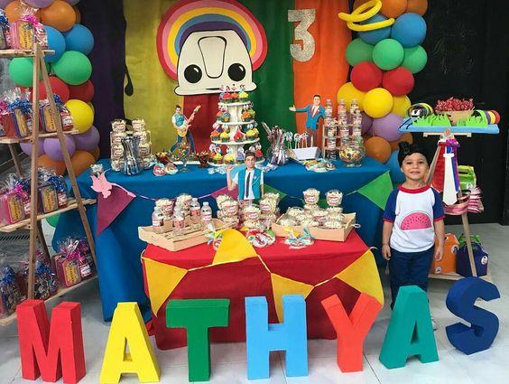 Ideas para cumpleaños de junior express