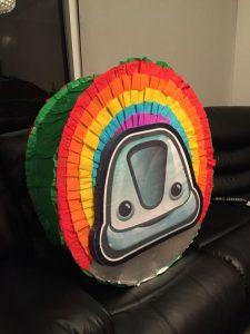 Piñata para cumpleaños de topa junior express